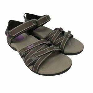 Teva Womens Tirra Brown Hiking Sport Sandals 7M
